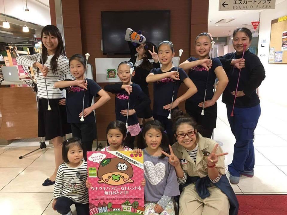 [ 2016/4/27 ]♡ちゃんみよTV #939♡ゲスト 堀 圭子さん&クッキーズバトンクラブのみなさん